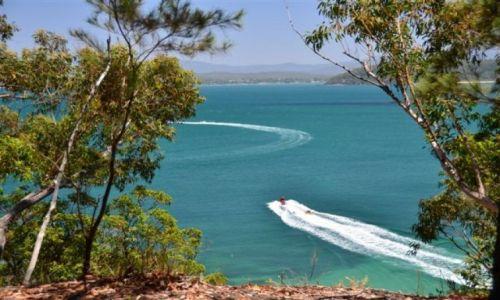 Zdjecie AUSTRALIA / NSW / South Coast / Lodki nad oceanem