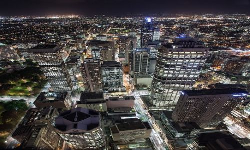 Zdjecie AUSTRALIA / Sydney / Sydney / swiatla