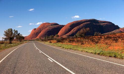 Zdjęcie AUSTRALIA / Northern Territory / Red Centre / Kata Tjuta