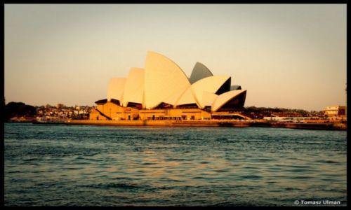 Zdjecie AUSTRALIA / NSW / Sydney / Zach�d s�o�ca -