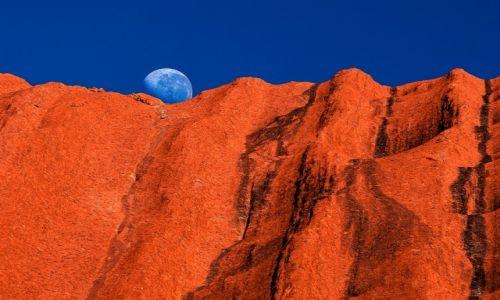 Zdjecie AUSTRALIA / Red Centre / Uluru / galka lodow na gofrze