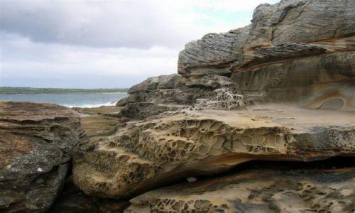 AUSTRALIA / Sydney / Marubra / Marubra i skaly