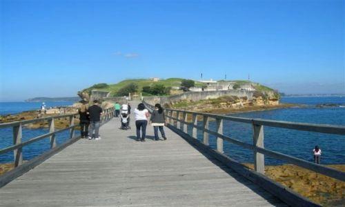 Zdjecie AUSTRALIA / Sydney / Wschodnia dzielnica Sydney / Fort w La Peruse