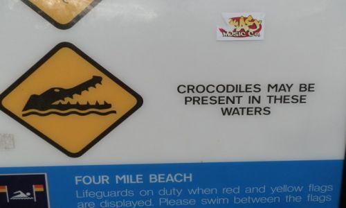Zdjęcie AUSTRALIA / QL / Cairns / Ciekawy znak