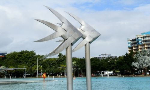 Zdjęcie AUSTRALIA / QL / Cairns / Publiczny basen w Cairns