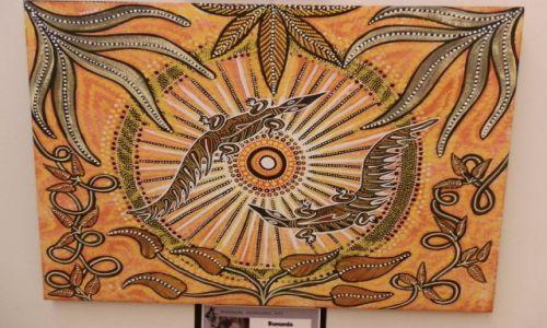 Zdjęcie AUSTRALIA / QL / Cairns / Sztuka aborygeńska