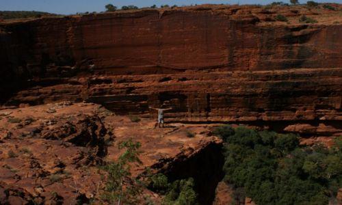 AUSTRALIA / Northern Territory / King's Canyon / Iście królewski