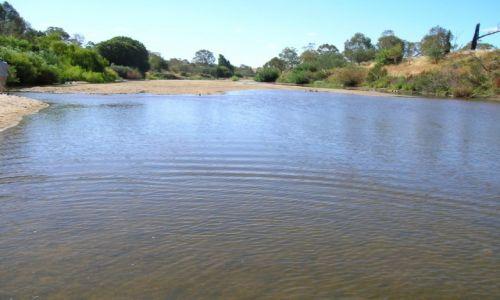AUSTRALIA / ACT / Tharwa / Susza-rzeka wysycha