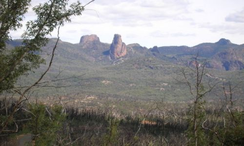 Zdjecie AUSTRALIA / Outback wschodni / Warrumbungle Nat. Park / Oaza gor na outback
