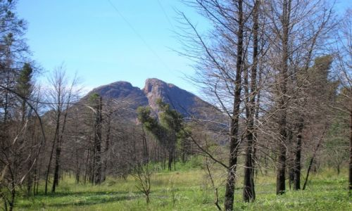 Zdjecie AUSTRALIA / Outback wschodni / Warrumbungle Nat. Park / Split Rock