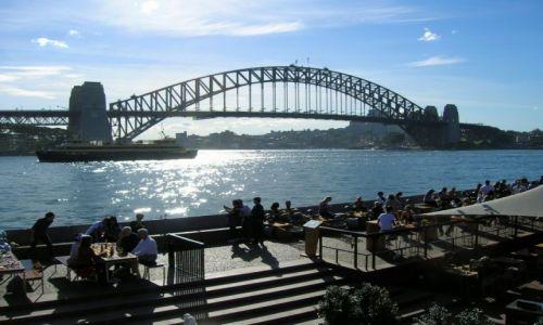 Zdjecie AUSTRALIA / Sydney / centrum / Harbour bridge