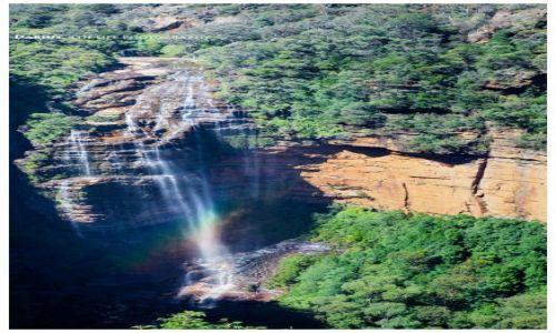 Zdjęcie AUSTRALIA / Sydney / Blue Mountains / Katoomba Waterfall