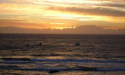 Zdjęcie AUSTRALIA / South Coast / South Coast / Wschod slonca nad oceanem