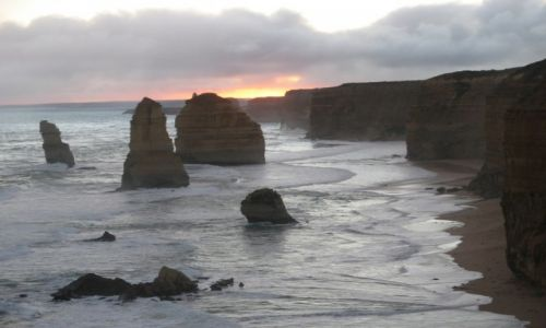 AUSTRALIA / Stan Wiktoria / Wielka Droga Oceaniczna / Dwunastu Apostołów