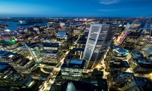 Zdjęcie AUSTRALIA / New South Wales / Sydney / wieczorem w Sydney