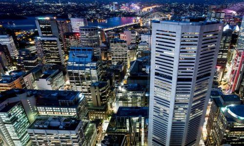 Zdjecie AUSTRALIA / NSW / Sydney / Światła wielkiego miasta