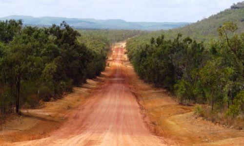 AUSTRALIA / Queensland /  Chillagoe / Droga do celu ...