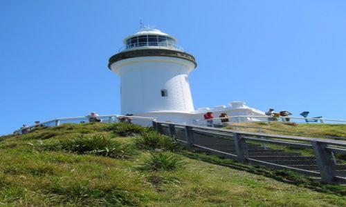 Zdjęcie AUSTRALIA / Bayron Bay / Latarnia morska / Droga do latarni morskiej