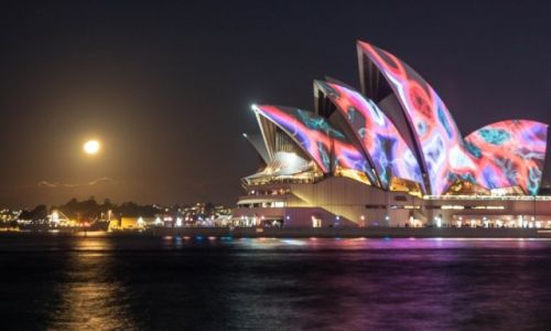 AUSTRALIA / NSW / Sydney / Vivid Sydney