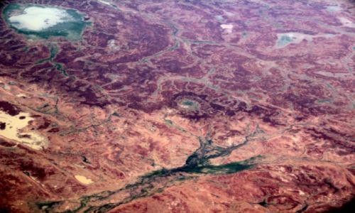 Zdjecie AUSTRALIA / Gdzieś nad sercem kontynentu  / Gdzieś nad sercem kontynentu  / z lotu ptaka