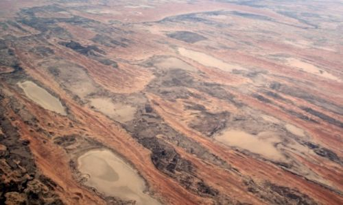Zdjecie AUSTRALIA / Gdzieś nad sercem kontynentu  / Gdzieś nad sercem kontynentu  / ... z lotu ptaka...