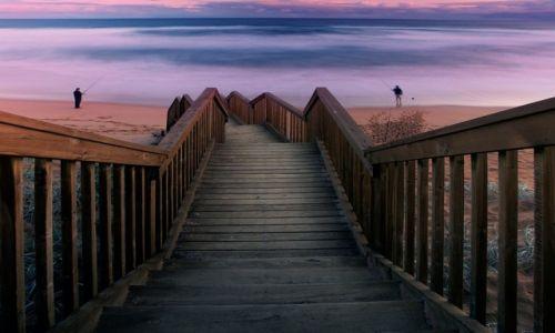 Zdjecie AUSTRALIA / Półwysep Fleurieu / Waitpinga Beach / Wędkarze