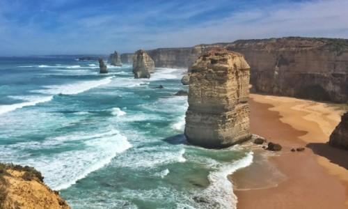 Zdjecie AUSTRALIA / Victoria / 12 Apostels / Apostołów jakby mniej ...