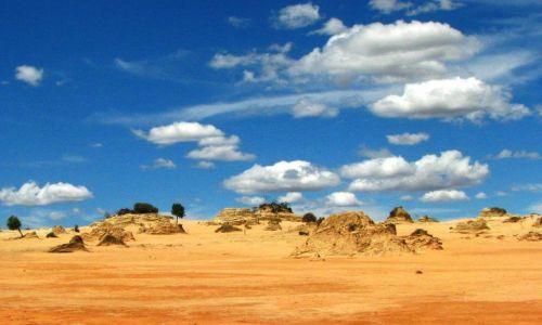 Zdjecie AUSTRALIA / NSW, Australia / Mungo National Park / Walls of China, Mungo National Park