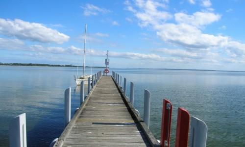 Zdjecie AUSTRALIA / Victoria / Lake Entrance, Metung / Lake King-jetty