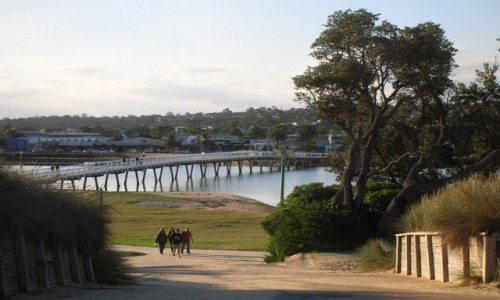 Zdjęcie AUSTRALIA / Victoria / Lake Entrance / Bridge-Cunningham Arm