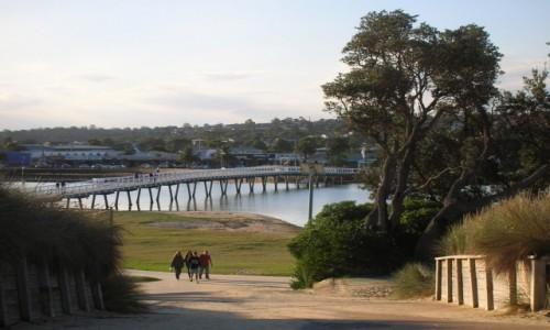 Zdjęcie AUSTRALIA / Victoria / Lake Entrance / Bridge-Cunningham Arm