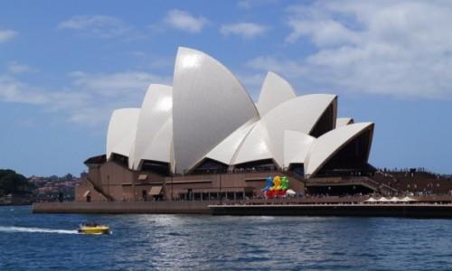 Zdjecie AUSTRALIA / Australia Po�udniowa / Sydney / Opera w s�o�cu