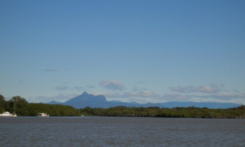 Zdjęcie AUSTRALIA / Wsch Australia / Tumbulgen / Mt. Warning-wygasly wulkan