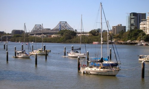 Zdjęcie AUSTRALIA / Qld / Brisbane / Brisbane River
