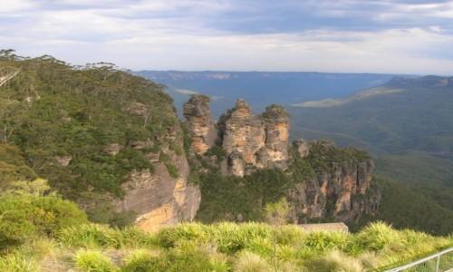 AUSTRALIA / NSW / Katoomba / Trzy siostry