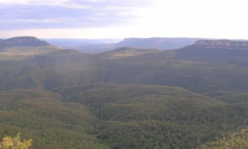 Zdjecie AUSTRALIA / NSW / Katoomba / Katoomba-gory