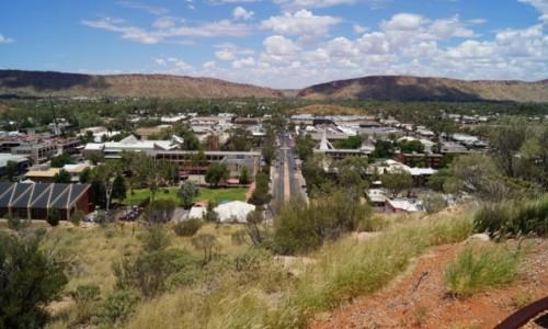 Zdjecie AUSTRALIA / Północno-zachodnie terytorium / Alice Spring / Najbardziej na świecie - gorąco i sucho