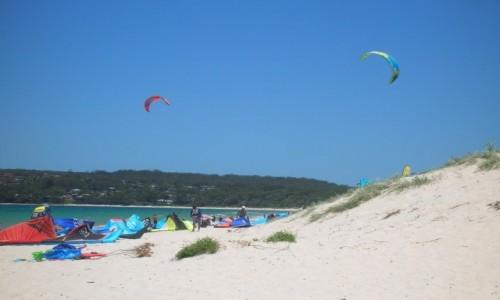 Zdjecie AUSTRALIA / NSW / Husskinson / Wydmy nad oceanem