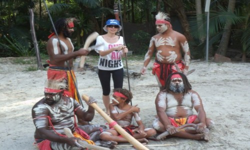 Zdjecie AUSTRALIA / Gold Coast / Currumbin Wildlife Sanctuary / Aborigines