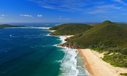 Zdjecie AUSTRALIA / - / Nelson Bay / Plaże