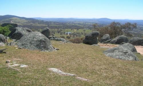 Zdjecie AUSTRALIA / NSW / Na farmie / Widok w sloneczny dzien