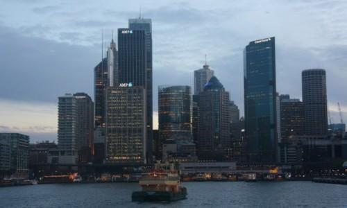 Zdjecie AUSTRALIA / Nowa Południowa Walia / Sydney / Promem z Watson Bay do Circular Quay (V)