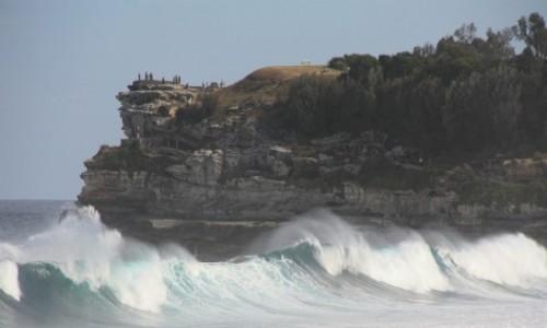 Zdjecie AUSTRALIA / Nowa Południowa Walia / Sydney / Na Bondi Beach #1