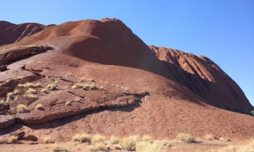 Zdjecie AUSTRALIA / NT / Outback / Uluru triche inaczej