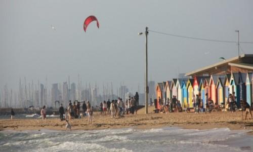 Zdjecie AUSTRALIA / Wiktoria / Melbourne / Kolorowo na Brighton Beach #1