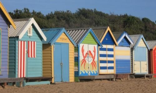 Zdjecie AUSTRALIA / Wiktoria / Melbourne / Kolorowo na Brighton Beach #3