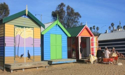 Zdjecie AUSTRALIA / Wiktoria / Melbourne / Kolorowo na Brighton Beach #4