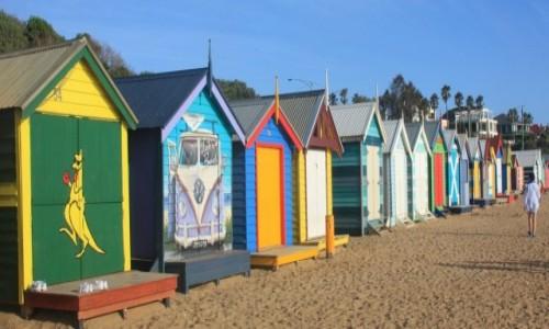 AUSTRALIA / Wiktoria / Melbourne / Kolorowo na Brighton Beach #5