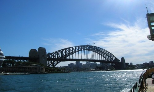 Zdjecie AUSTRALIA / Sydney / Centrum / Harbour Bridge
