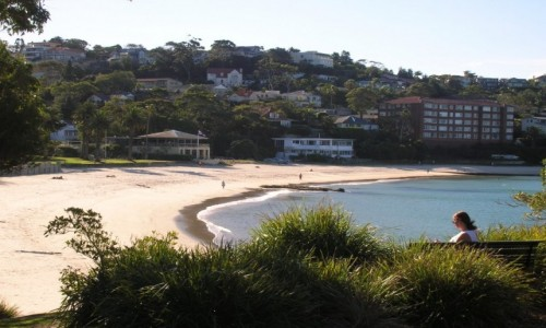 Zdjecie AUSTRALIA / Sydney / Mosman suburb / Balmoral beach